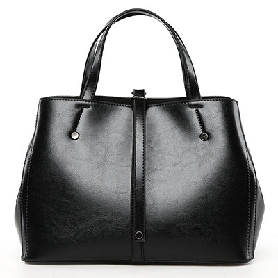 Top Strap Handbag Leather