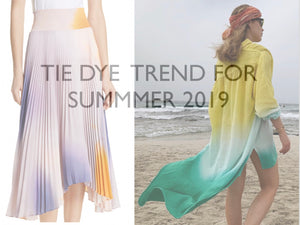 Tie-Dye Trend for SS19/20