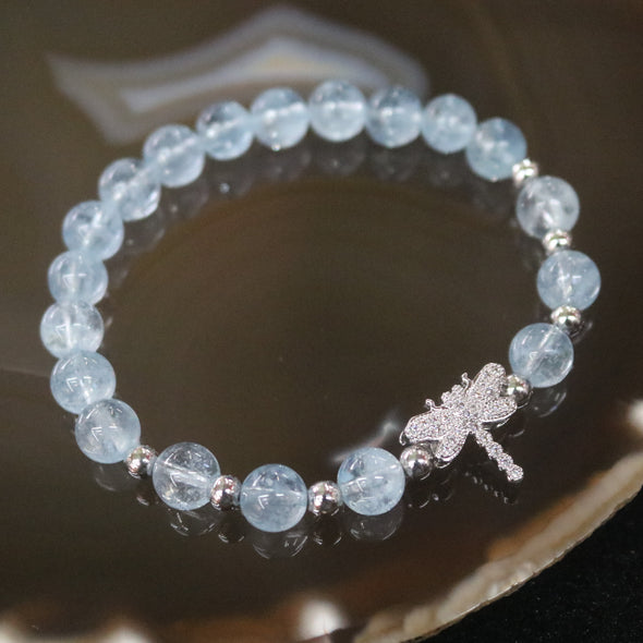 Born to Fly - Natural Aquamarine Feng Shui Bracelet