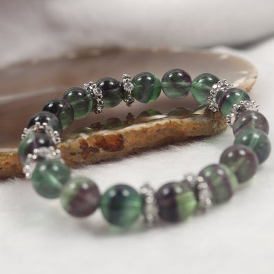 The Cleanse - Natural Fluorite Beads Bracelet