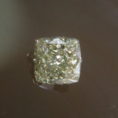 Natural Faceted Cushion Cut Diamond - 1.17 cts