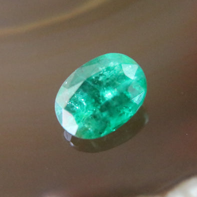 Natural Faceted Emerald - 3.53 cts L11.3 W8.3 D5.1mm