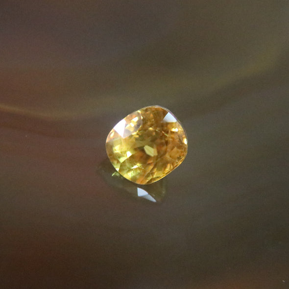 Natural Faceted Yellow Sapphire - 3.2cts L7.9 W7.0 D5.8mm