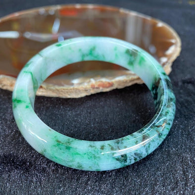 Type A Burmese Jade Bangle