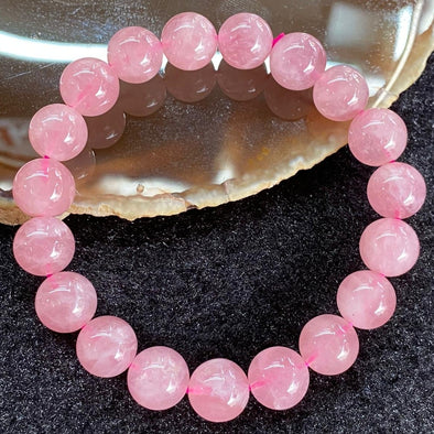 Natural Rose Quartz for romance luck - 27.89g 10.0mm/bead