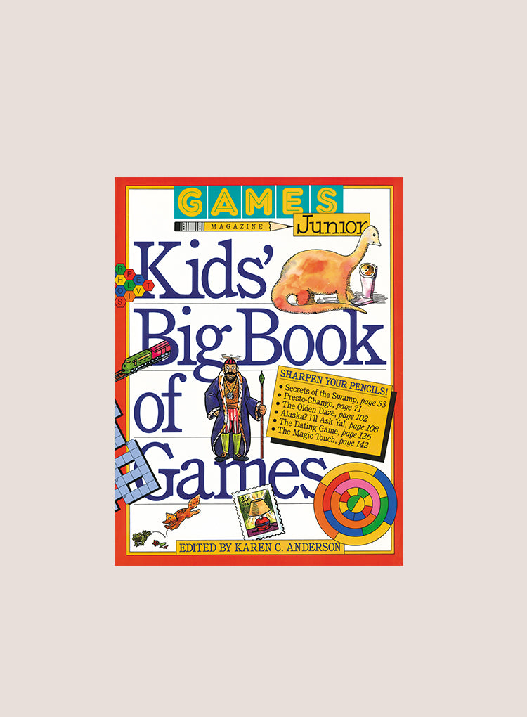 WORKMAN KIDS BIG BOOK OF GAMES