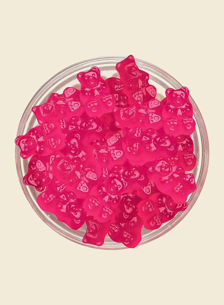 Candy Corner Albanese Pink Watermelon Gummy Bears