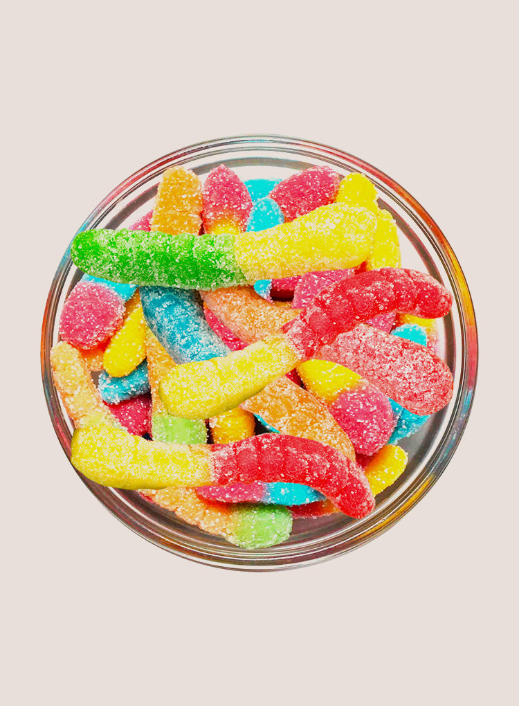 Candy Corner Albanese Sour Gummy Worms