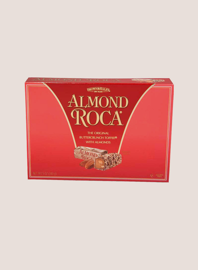 Candy Corner Brown & Haley Almond Roca Buttercrunch Toffee Box