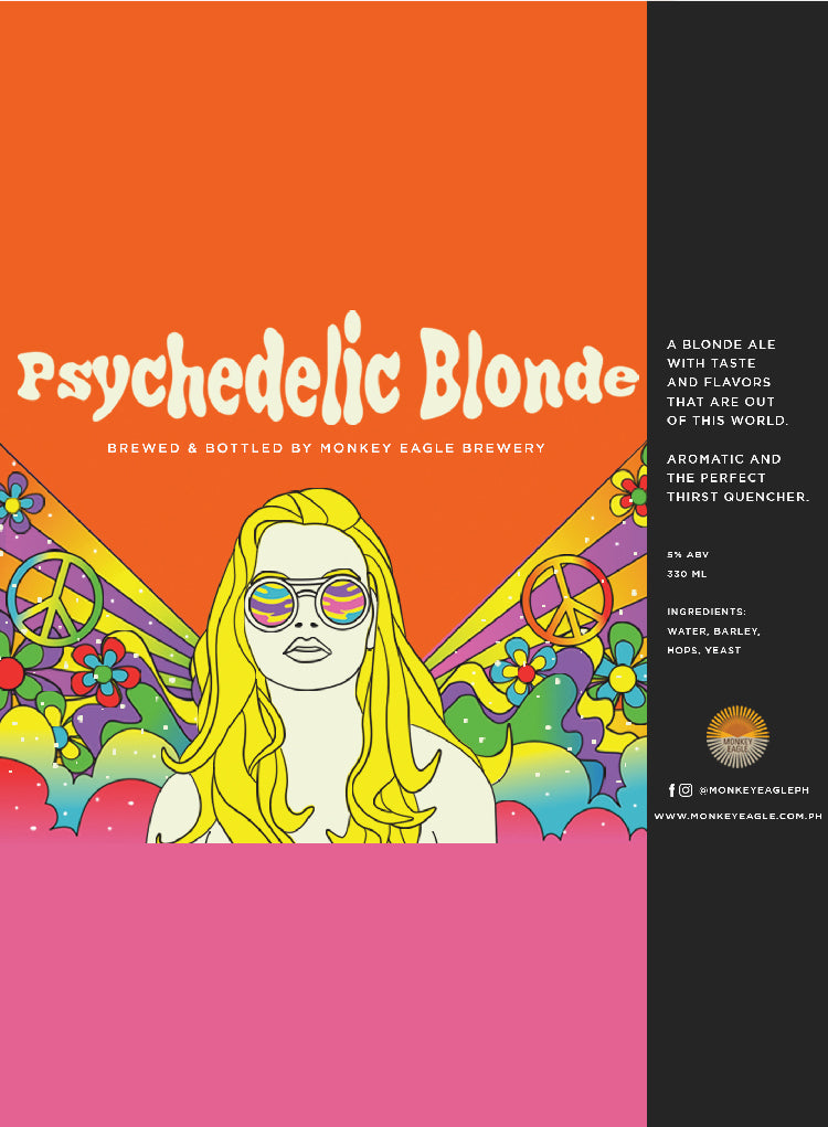 MONKEY EAGLE PSYCHEDELIC BLONDE