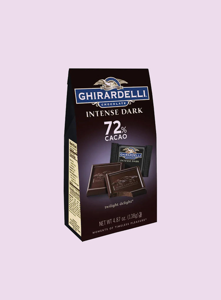 Candy Corner Ghirardelli Intense 72% Dark Chocolate Twilight Delight Bag