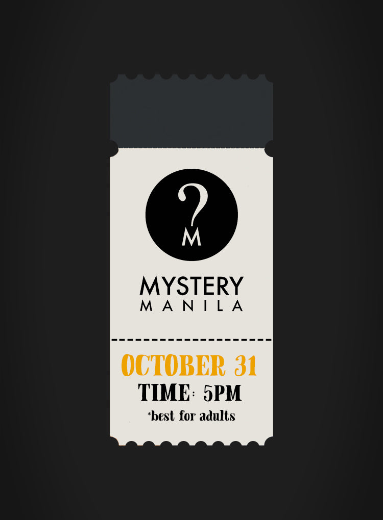 Mystery Manila x CommonThread: The Missing Masterpiece Ticket
