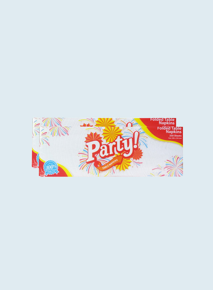ALL YEAR HOME PARTY QUARTER FOLED TABLE NAPKIN 1-PLY