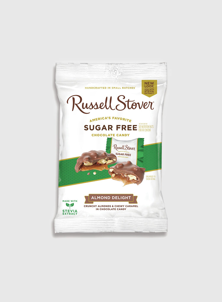 Candy Corner Russell Stover Sugar-Free Almond Delight Bag