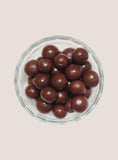 Candy Corner Sconza 52% Dark Chocolate Maltballs