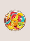 Candy Corner Sugared Gummy Rings