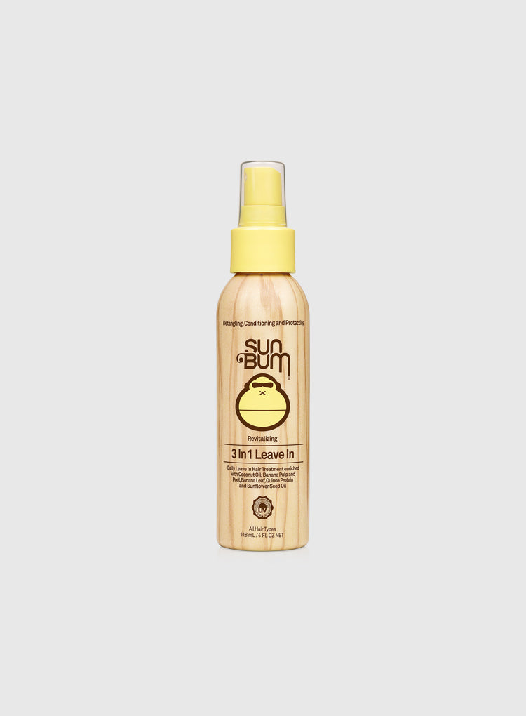 SUN BUM HAIR 3-IN-1 LEAVE IN
