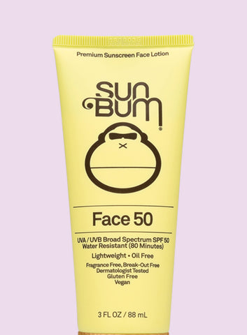 SUN BUM SPF50 FACE SUNSCREEN LOTION
