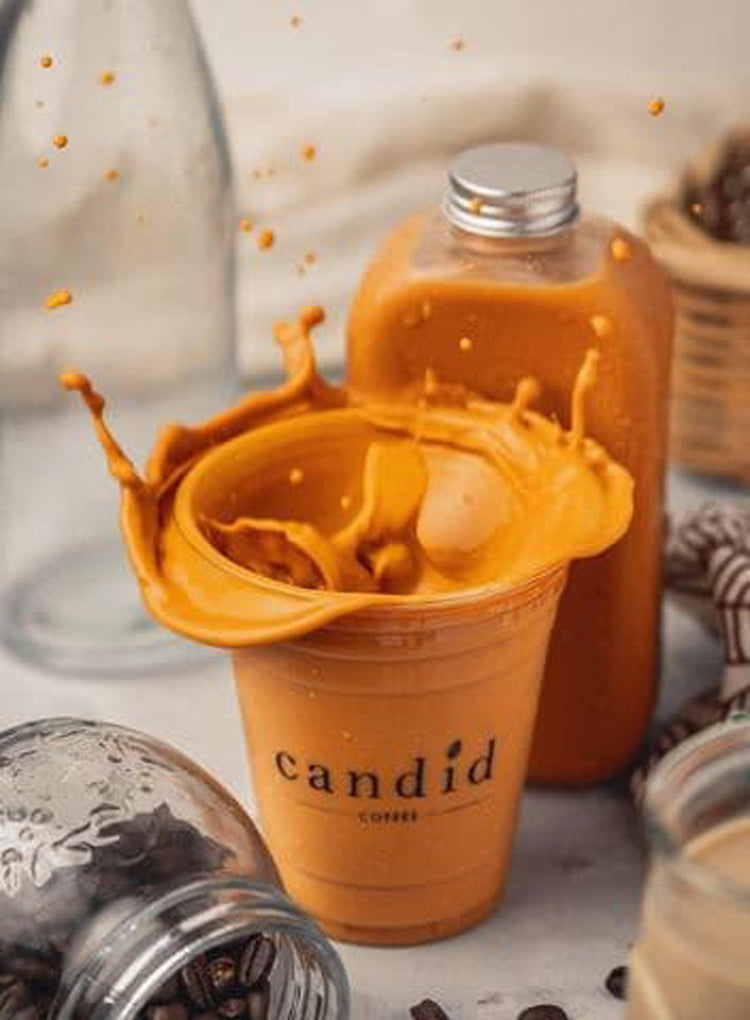 CANDID COFFEE 1L THAI TEA DRINK