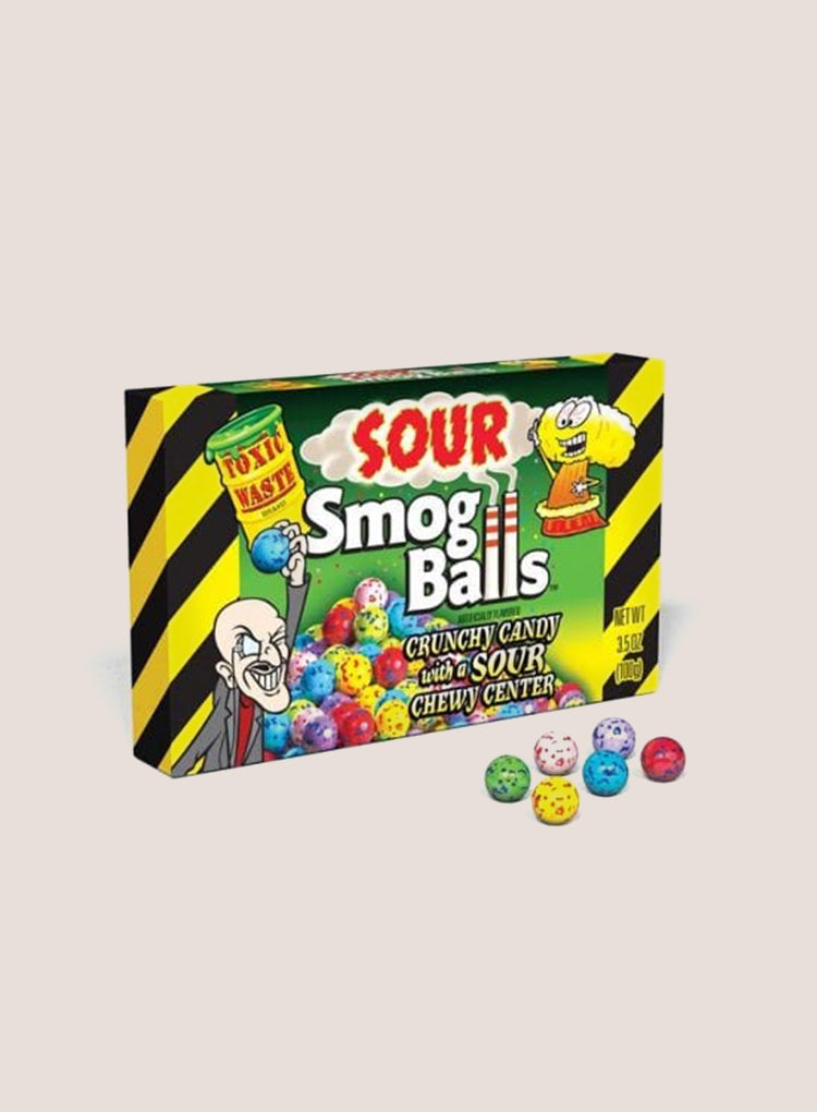 Candy Corner Toxic Waste Smog Balls Theater Box