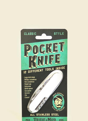 Trixie & Milo Classic Pocket Knife
