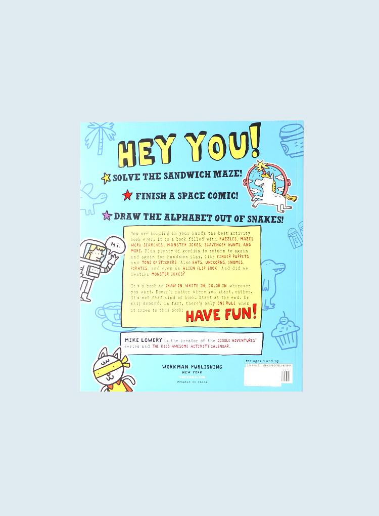 Workman Kids Awesome Activity Book