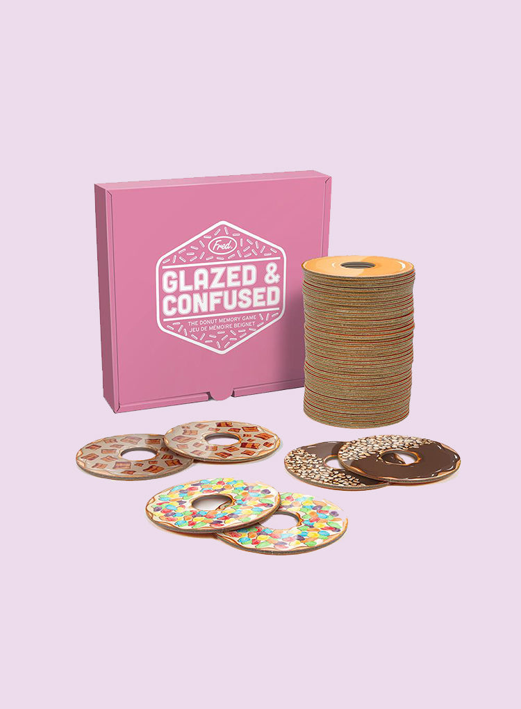 FRED GLAZED & CONFUSED MEMORY GAME