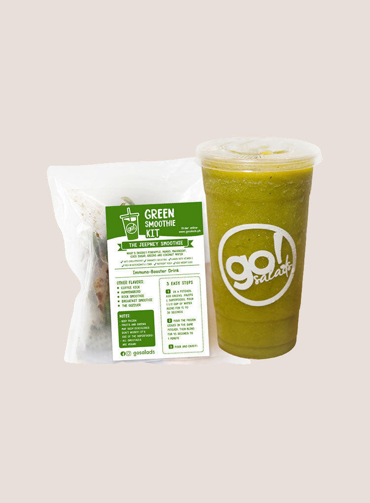 GO! SALADS THE JEEPNEY SMOOTHIE KIT