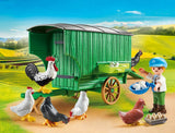 Country Farm Chicken Coop