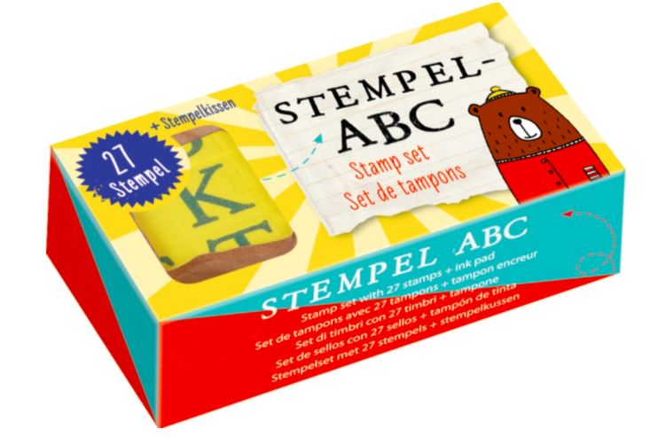 ABC Stamp Set