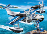 Floating Police Seaplane