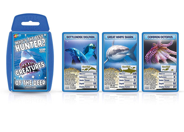 Top Trumps - Creatures of the Deep