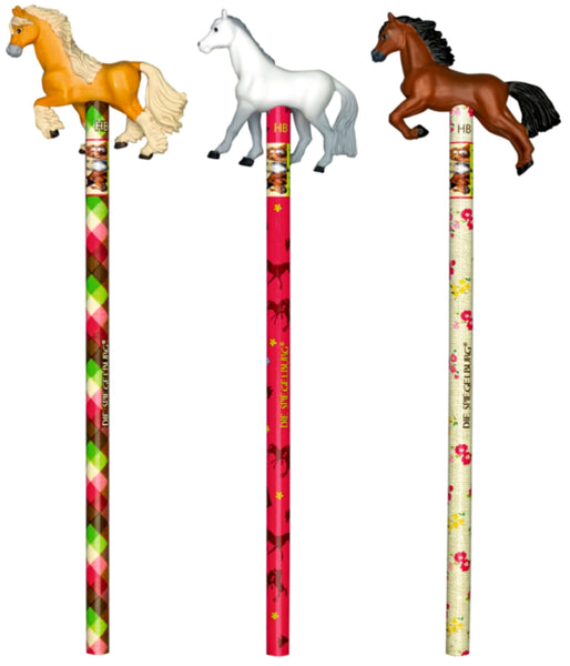 Pencil with topper - Horse Friends
