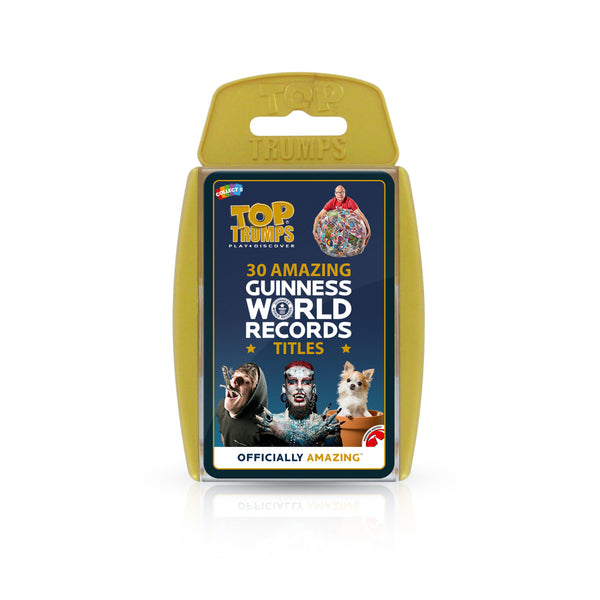 Top Trumps - Guinness World Book of  Records