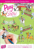 Scribble Down Transfer Activity Pack - Pony Show