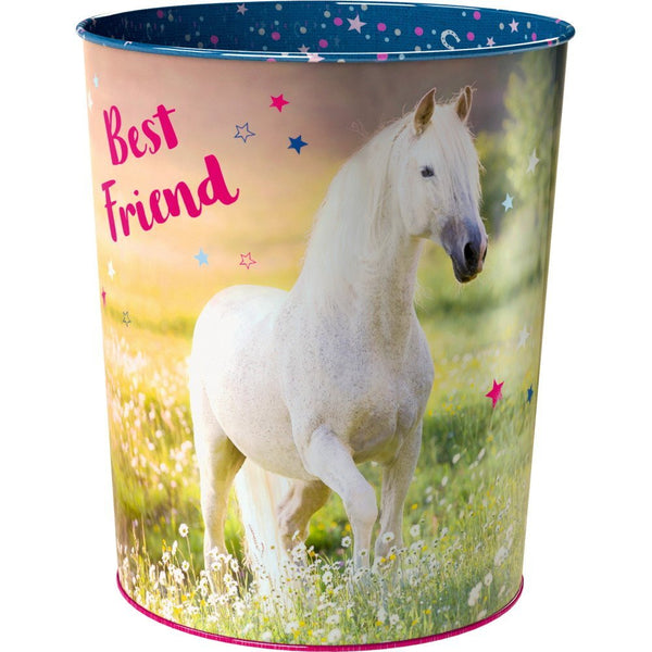 Waste-paper basket - Horse Friends