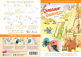 Scribble Down Transfer Activity Pack - Dinosaur Encounter