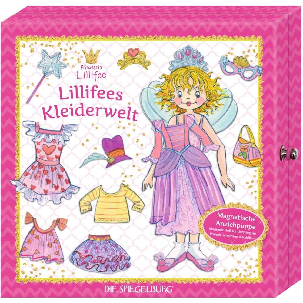Magnetic Dress up Doll - Princess Lillifee
