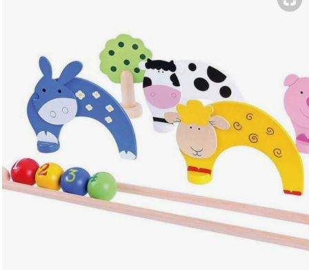 Farm Animals Croquet Set