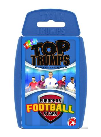Top Trumps - European Football Stars