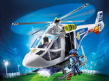 Police Helicopter with LED Searchlight