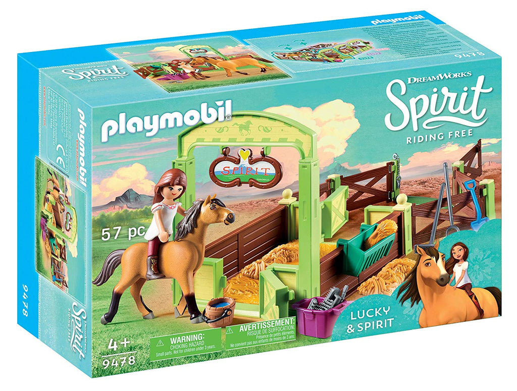 Horse Box - Dreamworks Lucky and Spirit