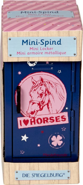 Mini Locker - Horse Friends (Blue)