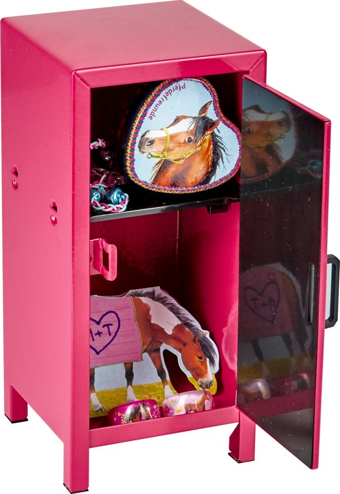 Mini Locker - Horse Friends (Pink)