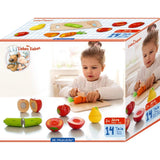 Wooden Cutting Set - Produce