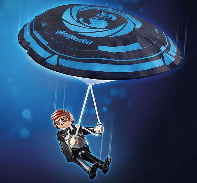 PLAYMOBIL : THE MOVIE - Rex Dasher with Parachute