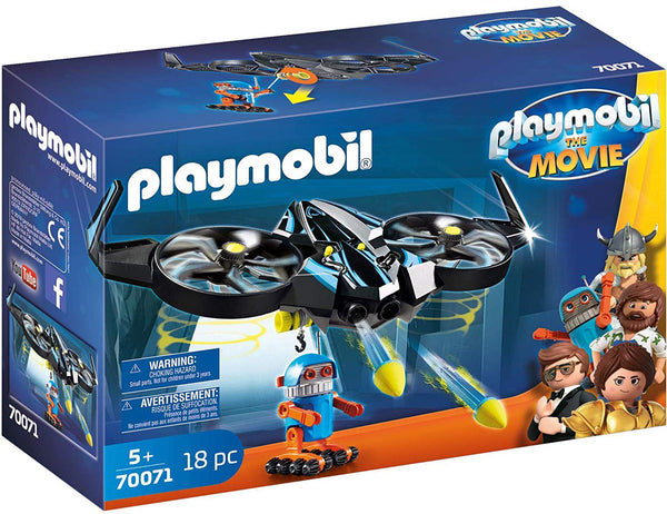 PLAYMOBIL : THE MOVIE - Robotitron with Drone