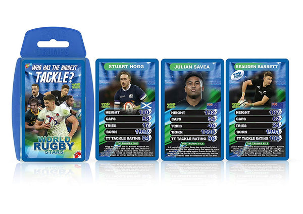 Top Trumps - World Rugby Stars 2018