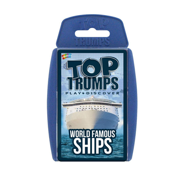Top Trumps - World Famous Ships
