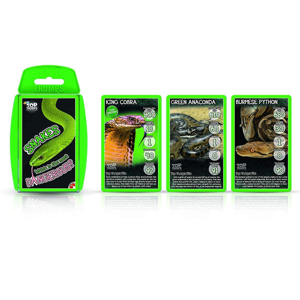 Top Trumps - Snakes
